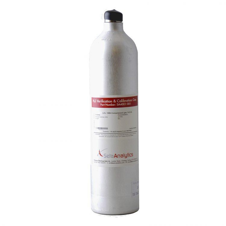 Проверочная газовая смесь H2S - SA4001-001'